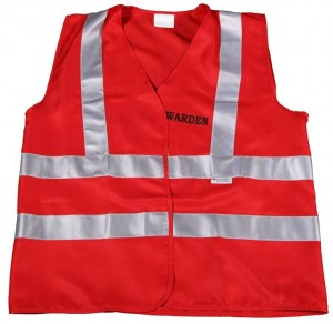 Warden Vest - Red