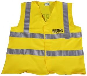Wardens Vest - Yellow